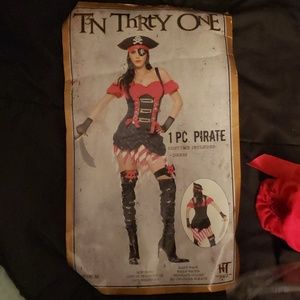 Hot topic  Pirate costume (dress only)